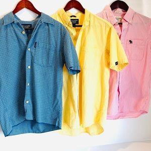 Abercrombie & Fitch Men's Short Sleeve Bundle